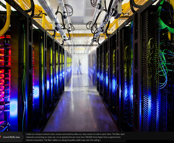 Google Data Center Cooling Strategy
