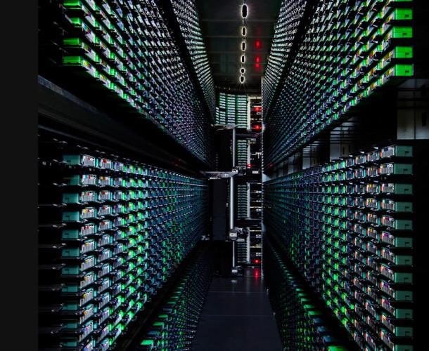 Google Data Center More Backup Tape