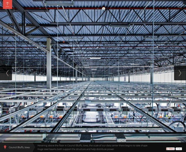 Google Data Centers Have Plenty of Cable Tray Space