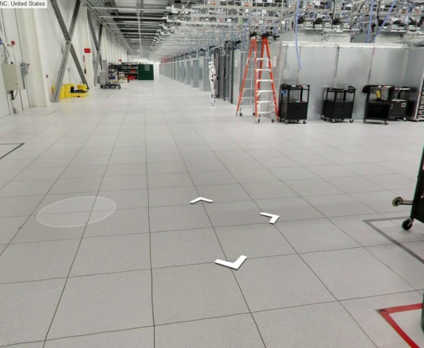 Google Data Center Storm Trooper Security