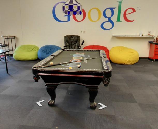 Google Data Center Break Room