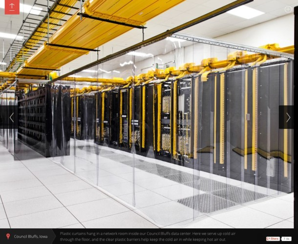 Google Data Center Racks