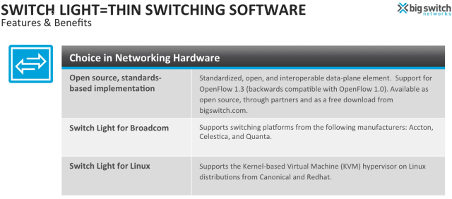 OpenFlow Whitebox ODM