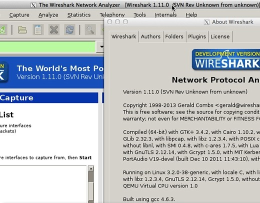 Installing Wireshark On Linux for OpenFlow Packet Captures