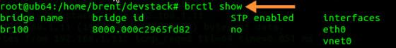 OpenStack Brctl
