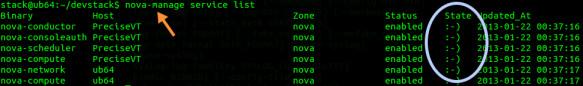 OpenStack nova-manage