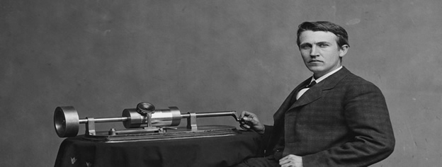 Thomas Edison and the Phonograph at the White House