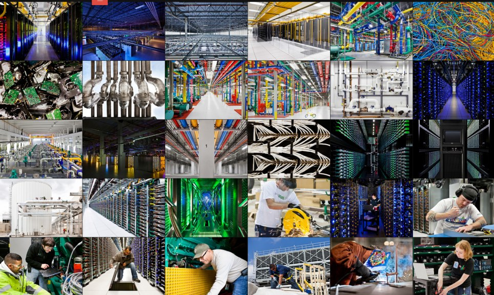 Google Data Center Pictures Year In Review