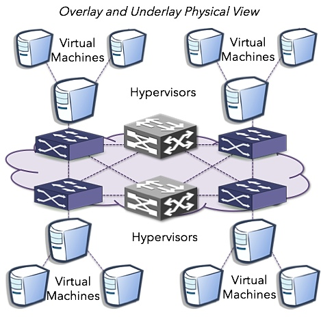 Physical SDN Network View