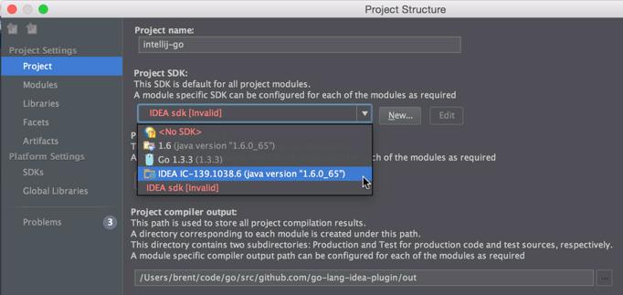 Installing Golang IDE Support in Intellij