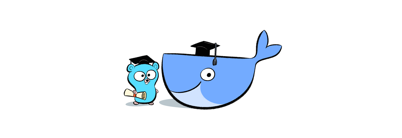 Docker Gopher Banner