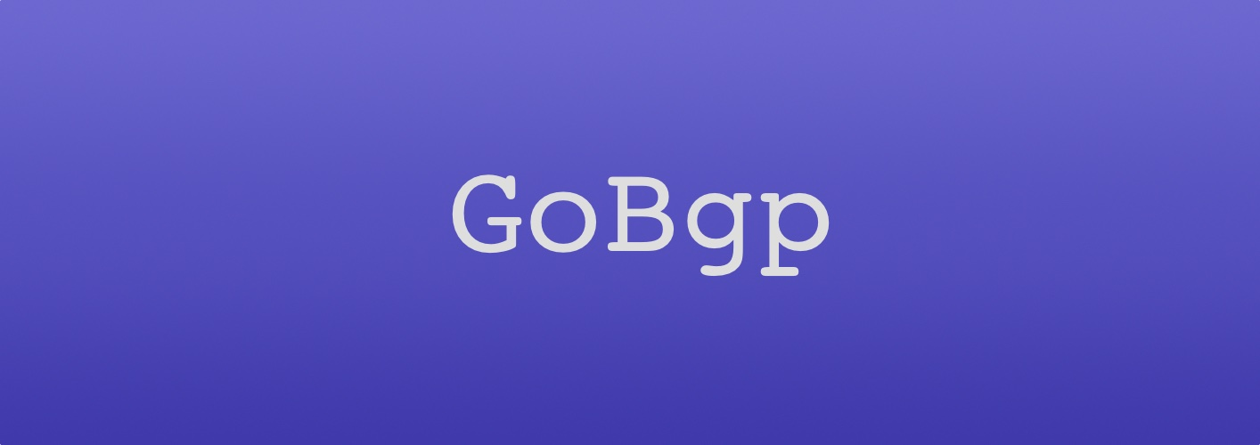 GoBGP - A Control Plane Evolving Software Networking